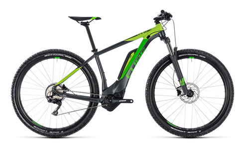 Cube Reaction Hybrid Pro 400 iridium´n´green 2018