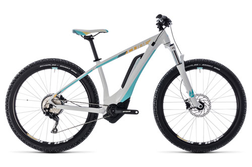 Cube Access Hybrid Pro 500 white´n´blue 2018