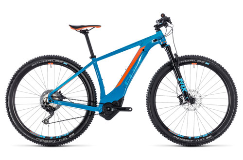 Cube Reaction Hybrid SLT 500 blue´n´orange 2018