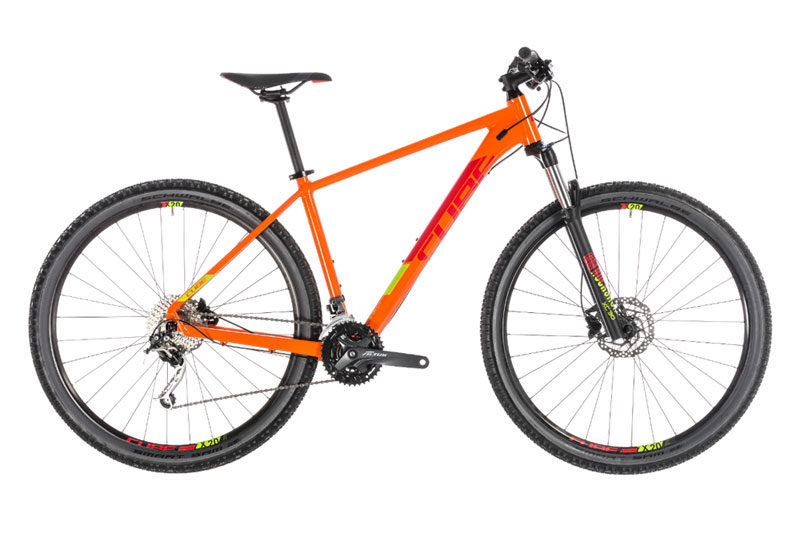 MTB Cube Cube Cube Analog orange´n´RED 2019